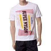 ラフシモンズ Tシャツ super nylon ホワイト