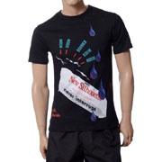 ラフシモンズ Tシャツ NEW SILHOUETTE ブラック