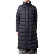 ボグナー スタンド襟ロングコート ダウン ブラック