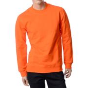 ラフシモンズ トレーナー Regular fit sw eater uni 19006 Orange コットン オレンジ