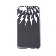 ニールバレット サンダーボルトiPhoneケース 8 7 6S 6対応 カバー ブラック