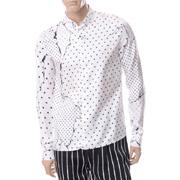 ハイダーアッカーマン クラシックシャツ シルク ホワイト