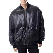 ハイダーアッカーマン オーバーサイズボンバージャケット ナイロン ブラック