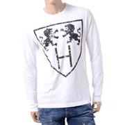 ハイドロゲン ロングTシャツ ホワイト