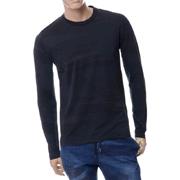 ハイドロゲン 迷彩柄ロングTシャツ コットン ブラック
