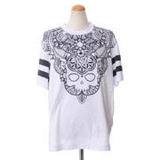 ハイドロゲン コラージュタトゥプリントTシャツ コットン ホワイト