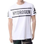 ハイドロゲン ブランドロゴTシャツ ホワイト