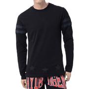 ハイドロゲン ロングTシャツ ブラックブラック