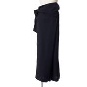 トモウミオノ 変形パンツ ストレッチ ブラック