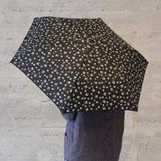 ルシアンペラフィネ 折り畳み傘 ホワイトスカル ブラック