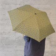 ルシアンペラフィネ 折り畳み傘 プロヴァンスブルースカル オリーブ