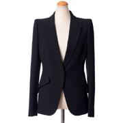 アレキサンダーマックイーン スーツジャケット マックイーンショルダー ブラック