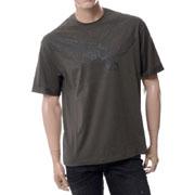 エンポリオアルマーニ イーグルプリントラウンドネック半袖Tシャツ カーキ