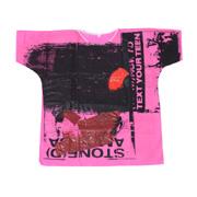 ラフシモンズ 世界100着限定ハンドペインテッドホスピタルTシャツ ピンク2