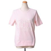 シーバイクロエ ロゴプリントTシャツ コットン ピンク