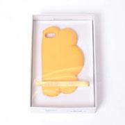 ステラマッカートニー  クラウドiPhone7用ケース シリコン イエロー