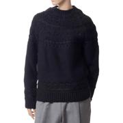 アレキサンダーマックイーン セーター ブラック