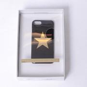 ステラマッカートニー スターiphone7用ケース プラスチック ブラック