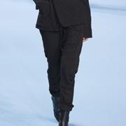 ハイダーアッカーマン ウエストゴムパンツ ジャージー ブラック