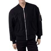 エチュードスタジオ ビッグMA-1ジャケット リバーシブル ブラック