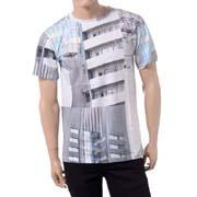 エチュードスタジオ 東京ビルディングTシャツ コットン ホワイト