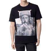 ニールバレット タトゥオーバーサイズドTシャツ ブラック