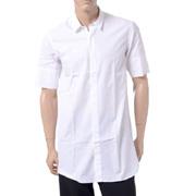 エチュード 半袖シャツ コットン ホワイト