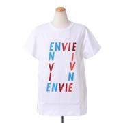 エトレセシル ENVIEプリントTシャツ コットン ホワイト