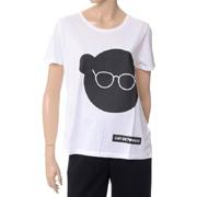 エンポリオアルマーニ ベアプリントTシャツ コットン ホワイト