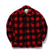 スタジオセブン Boafleece Jacket フリースジャケット レッドチェック