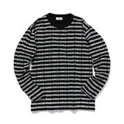 スタジオセブン SEVEN Border Basic Long Tee セブンボーダーロングTシャツ コットン ブラック