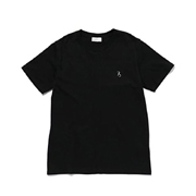 スタジオセブン 7S Logo Skinny Tee Tシャツ コットン ブラック
