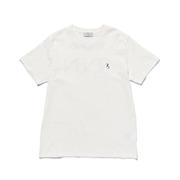 スタジオセブン 7S Logo Skinny Tee Tシャツ コットン ホワイト