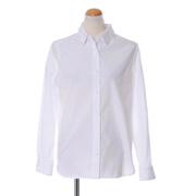 パシオーネ  襟付きシャツ コットン ホワイト