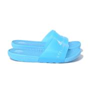 ステラマッカートニー アディダス (adidas) adissage スライドサンダル ポリエステル ミラーブルー