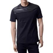 ニールバレット Tシャツ フェイクレザー ブラック