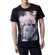 ニールバレット Tシャツ ダビデ像アインシュタインプリント ブラック