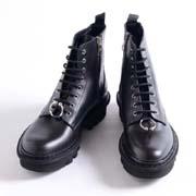 ニールバレット ブーツ レザー ブラックブラック