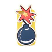 シーバイクロエ 爆弾 iPhone8用ケース iPhone7 6S/6対応 カラフル