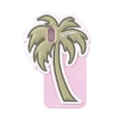 シーバイクロエ 椰子の実 iPhoneX用ケース カラフル