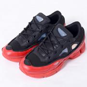 ラフシモンズ Adidas(アディダス) スニーカー オズウィーゴー3 ブラックレッド