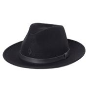 マルセロブロン ハット ショートタイプ FEDORA HAT ボルサリーノ ブラック