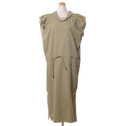 ルメール Tシャツドレス コットンシルク セージグリーン
