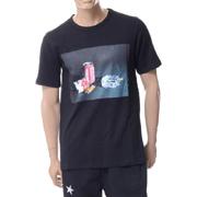 エチュード 缶ジュースプリントTシャツ コットン ブラック