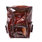 ラフシモンズ イーストパックボリュームトップロード リュックサック RS VOLUME TOPLOAD L Brown Trans SS18 ブラウン