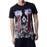 マルセロブロン Tシャツ camu tiger t-shirt ブラック
