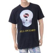 エブブラバド ヘルオンアースプリント半袖Tシャツ ブラック