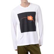 パブリックスクール ロングTシャツ ホワイト