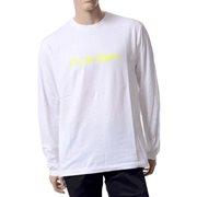 フルビーケー テクノロゴロングTシャツ コットン ホワイト