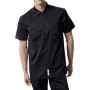 フルビーケー (FULL BK) エフビーケーワークシャツ ブラック